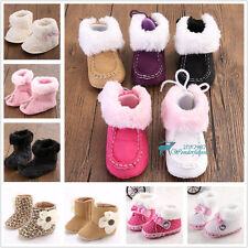 Many Baby Boy Girl Lovely Boots Shoes Toddler Infant Anti-Slip Soft Winter Boots