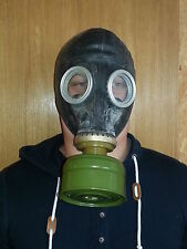 Gas Mask GP-5 (mask and filter) BLACK, Soviet Russian, NEW, Vintage, Collectible