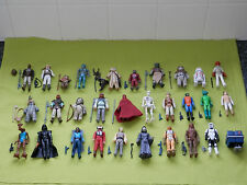 vintage star wars action figures all with original weapons