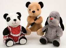 "8"" (20CM)  SOOTY, SWEEP AND SOO SOFT PLUSH TOYS - GREAT QUALITY - BNWT"