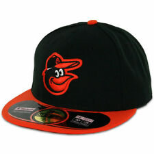 New Era Baltimore Orioles On-Field Authentic 59FIFTY  Performance Fitted Hat-BLK