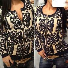 one size  Women Knitted Sweater Long Sleeve Knitwear Cardigan Coat Outwear Tops