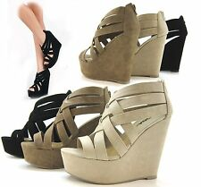 Womens Fashion Shoes Platforms Wedges Heels Sandals Party Comfort Straps Summer