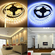 5M SMD 5050 3528 5630 300 LEDs Cool/Warm White LED Waterproof Strip Light Lamp