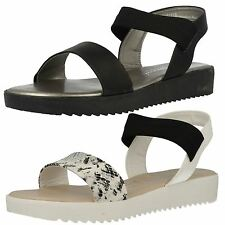 Ladies Savannah Retro Chunky Flat Summer Sandals F10377