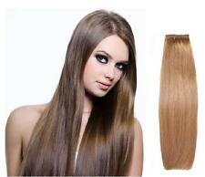 "10"" Straight Genuine European Remy AAAA Grade Human Hair Extensions Weft / Weave"