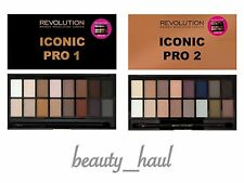 Makeup REVOLUTION Eyeshadow Palette iconico PRO 1 2 MATTE & shimmers Lorac DUPE!