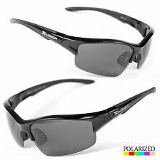 Men's Polarized Sunglasses Driving Wrap Around Outdoor Sports Eyewear Glasses
