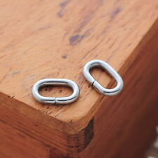 Wholesale Stainless Steel Oval Open Jump Rings Findings Supplies 8x5mm-1.2mm