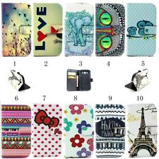 New Leather Wallet Case Cover Protector For Samsung Galaxy Grand Neo I9060 I9062