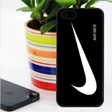 """Nike Logo white and black Bumper case for iphone 4 5 6 (4.7"""") Samsung Galaxy 4S"""