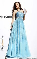 Sherri Hill 8437 Long Evening Dress ~LOWEST PRICE GUARANTEE~ NEW Authentic Gown