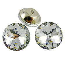 Decotacks® Crystal Diamante Round Upholstery Buttons, Tufting Sofa &  Headboard