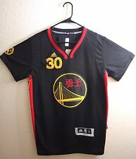 Adidas NBA Golden State Warriors Stephen Curry Chinese New Year Men Jersey