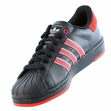 Mens Adidas Originals Superstar Lite 2 Rare Sneakers New, Black / Red G98594