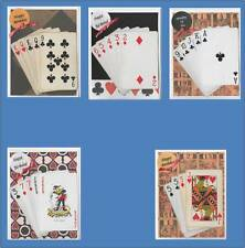 Birthday Card Games Cards - Pinochle, Bridge,Poker,Canasta,Cribbage -Free shipUS