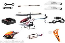 Syma F3 RC Helicopter, Blades, Battery, PCB, Charger, Motors, All Spare Parts