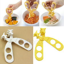 New Toddlers Baby Portable Scissors Feeding Food Shears Cut Crush food Safe Care
