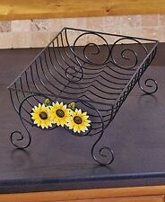 Country Apple Expandable Dish Rack Whimsical Sunflower Drying Dish Rack
