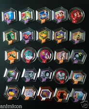 Disney Infinity 1.0 POWER DISC SINGLES Series 1 2 & 3 ** Select Your Disc ** 6+