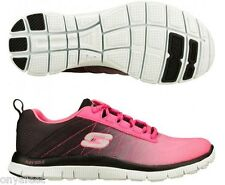 WOMENS SKECHERS FLEX APPEAL NEW RIVAL LADIES FITNESS/TRAINING/RUNNERS SHOES
