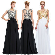 UNIQUE VINTAGE Long Prom Dresses Masquerade bridesmaid wedding formal ball gowns