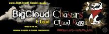 *NEW* BigCloud Chasers E-liquid  Range, Highest VG for CloudChasers (Advanced)