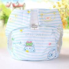Cute Baby Infant Nappy Covers Insert Newborn Washable Soft Cloth Diapers 0-6M