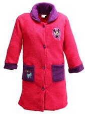 Disney Minnie Mouse Bathrobe for Girls 3 to 8 Years | Fuchsia