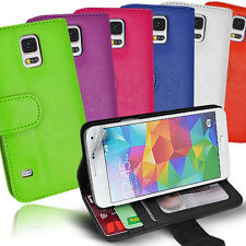 Side ID Wallet Leather Case Cover for Samsung Galaxy Core Prime G360 G360G + SG
