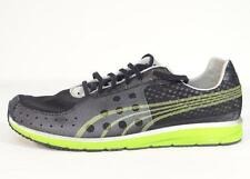 Puma Faas 250 Complete Running Black & Green Mesh Athletic Shoes Mens NEW