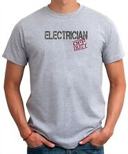 Electrician  Off Duty T shirt