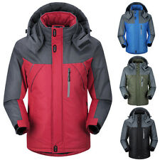 NEW Mens Winter Ski Waterproof Snow Warm Outdoor Sports Hiking Jacket Parka Coat