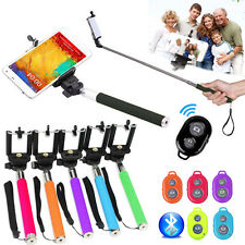 Extendable Selfie Stick Monopod For Samsung Galaxy S6/S5/S4/S3 +Bluetooth Remote