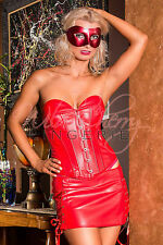 Sensual Body Corset Dress in Black and Red S M L XL 3XL 4XL 5XL Sexy Lingerie