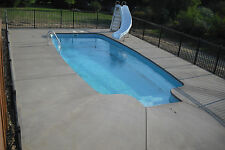 In-Ground Fiberglass Pool - Leading Edge - Huron Shores - Do It Yourself Package