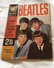 MEET THE BEATLES 1963 STAR SPECIAL NUMBER 12 PHOTOS VINTAGE COLLECTORS ITEM