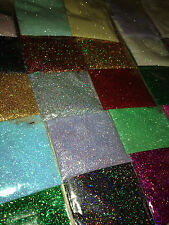 Holographic Ultra fine Glitter Wine scrapbook Nail Tattoo Art Craft Card lot