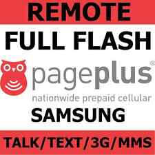 [REMOTE] Full Flash Samsung Galaxy S2 S3 S4 Note 2 Note 3 + more to Page Plus