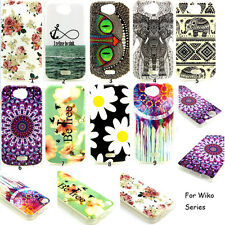 Soft Pattern Silicone TPU Back Case Cover Protector Skin For Wiko Series Phone