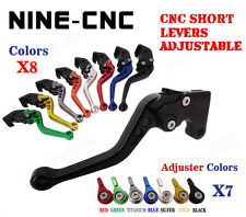 CNC Brake Clutch Lever Fit Triumph 675 Street Triple R 09-14 Speed Triple 08-10