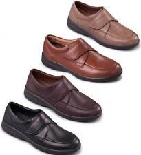 Padders SOLAR Mens Soft Casual Leather Velcro Extra Wide Fitting Comfort Shoes