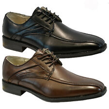 NEW MENS BOYS WEDDING SHOES ITALIAN FORMAL DRESS OFFICE WORK CASUAL PARTY SIZE