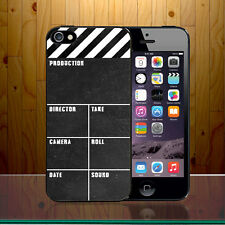 Clapperboard Pellicola rendendo Slate HOLLYWOOD ECCENTRICO MOVIE Duro Telefono Custodia Cover z453