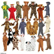 Childrens boy girl farm animal zoo onsie book day deluxe fancy dress costume