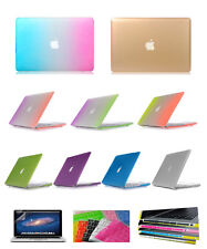 Rubberized Matte Hard Cover/Case Skin For Macbook Air 11/13 Pro Retina 12/13/15""