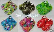 Toddler Boys & Girls Color Clogs Garden,Beach,Pool Shoes.