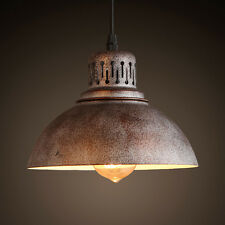 8.7in Industrial E27/E26 Retro Vintage Lamp Pendant Light Ceiling Lamp Lighting