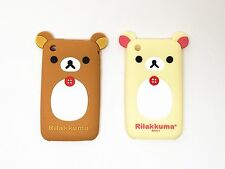 CUTE DURABLE SOFT RUBBER SILICONE BEAR PHONE CASE COVER for APPLE IPHONE 3 3GS