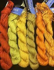 Berroco Glace Worsted Retired- HTF Bags of 5 Many color avaiable - 75 yards